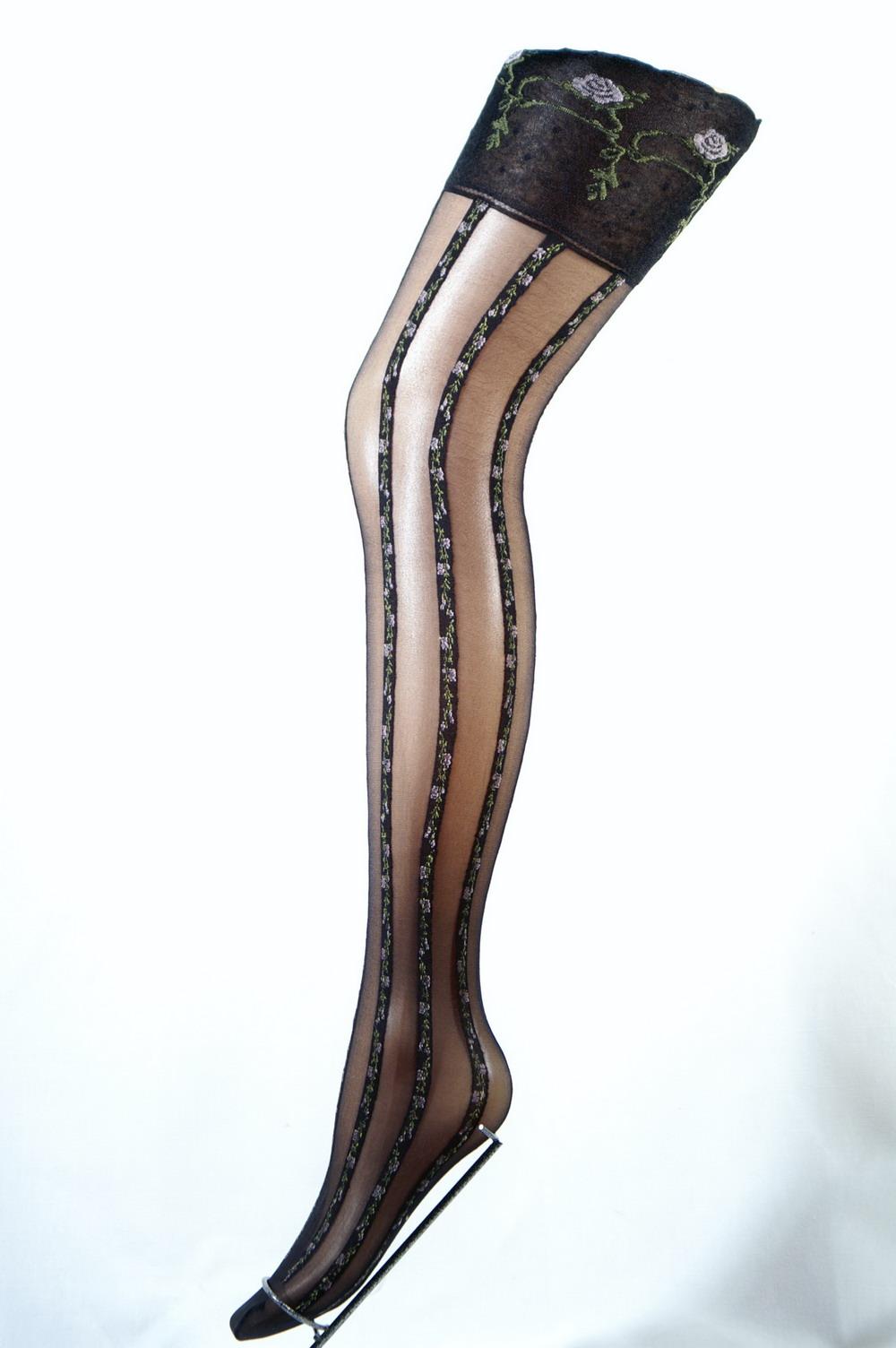 2f37f404dc9 Veneziana MIMI punčochy na podvazky V    Stockings