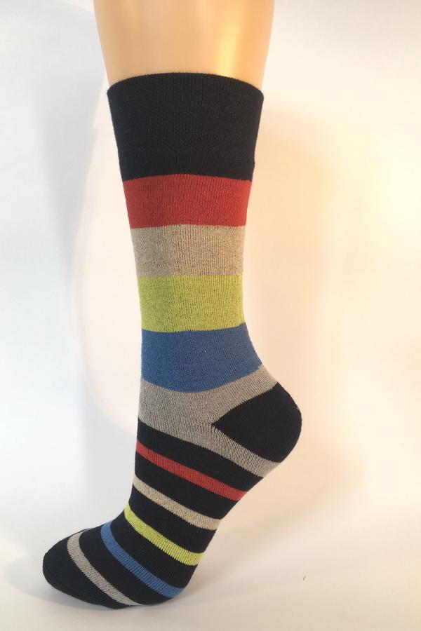 ePuncochace.cz FROTÉ pruhované ponožky K601    Ponožky  aff08a20ae