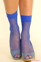 Ponožky síť malá oka