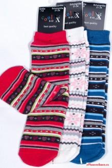 Dětské PROTISKLUZOVÉ ponožky froté 2249cdf83c