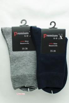 Barevné bavlněné ponožky bez vzoru 2f1695e7ca