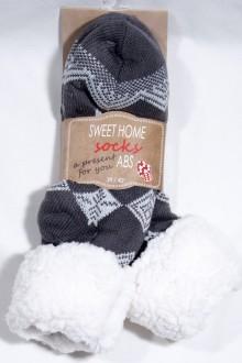 Sweet Home ponožky ABS protiskluz 70937 - šedá e5ba239195