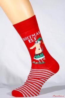 SHITMAS ELF pánské ponožky bavlněné b9c60f78ac