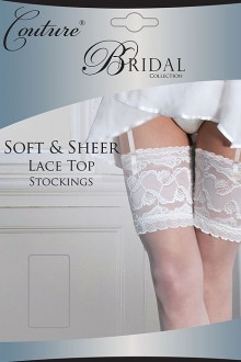 c0ecdf31bed SOFT LACE TOP stockings